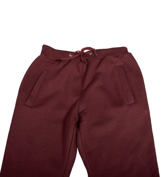 STRIPE SWEATPANT BURGUNDY
