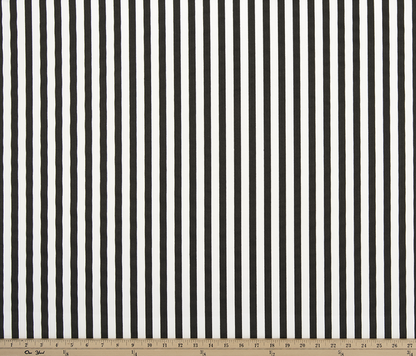 Twill-Basic Stripe Black