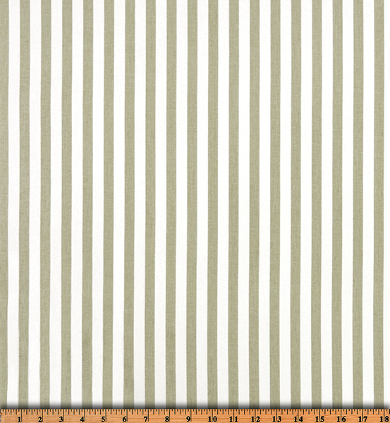 Twill-Basic Stripe Snowy Gray