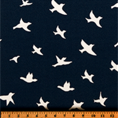 Bird Silhouette Oxford-100% Polyester