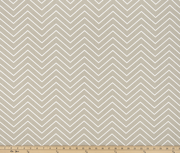 Twill-Chevron Gunmetal Tan