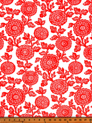 Mums Indian Coral-100% Polyester