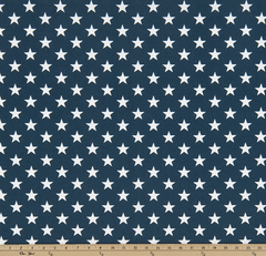 Stars Oxford-100% Polyester