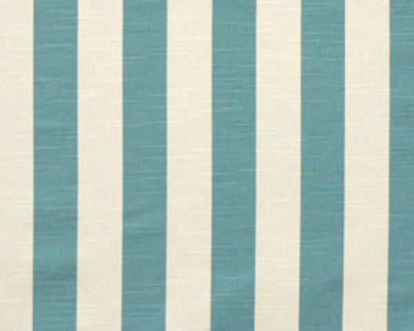 Slub-Stripe Coastal Blue