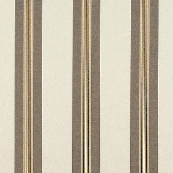"Taupe Tailored Bar Stripe-9"" Repeat"