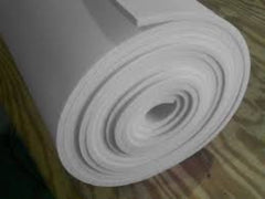 "Poly Scrim Foam with Reinforced Backing 1/2"" x 28"" x 50ft. Roll"