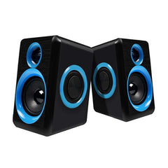 Surround Draagbare Computer Speakers Met Stereo Bass Usb Bedrade Powered Multimedia Desktop Speaker Voor Pc Laptops