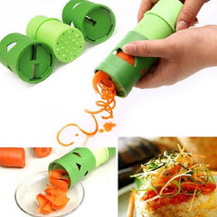 Plantaardige spiralizer fruit veggie twister cutter slicer kitchen tools gadgets flower maker