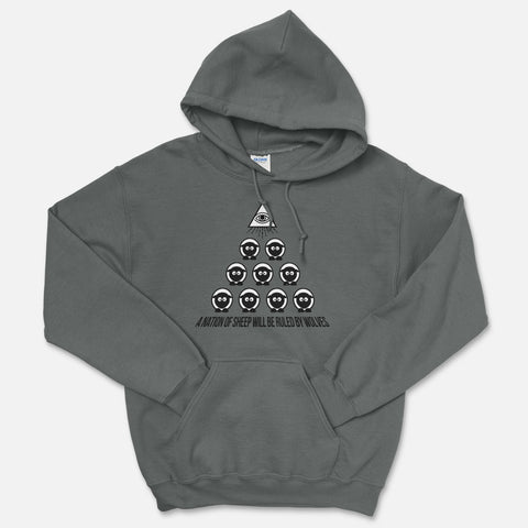 A Nation Of Sheep Hooded Sweatshirt