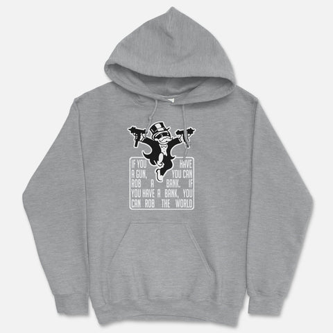 Bank Robbers Hooded Sweatshirt