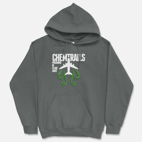 Chemtrails - Poisoning In Plane Sight Hooded Sweatshirt