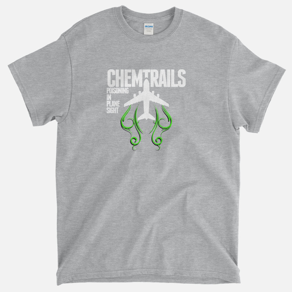 Chemtrails - Poisoning In Plane Sight T-Shirt