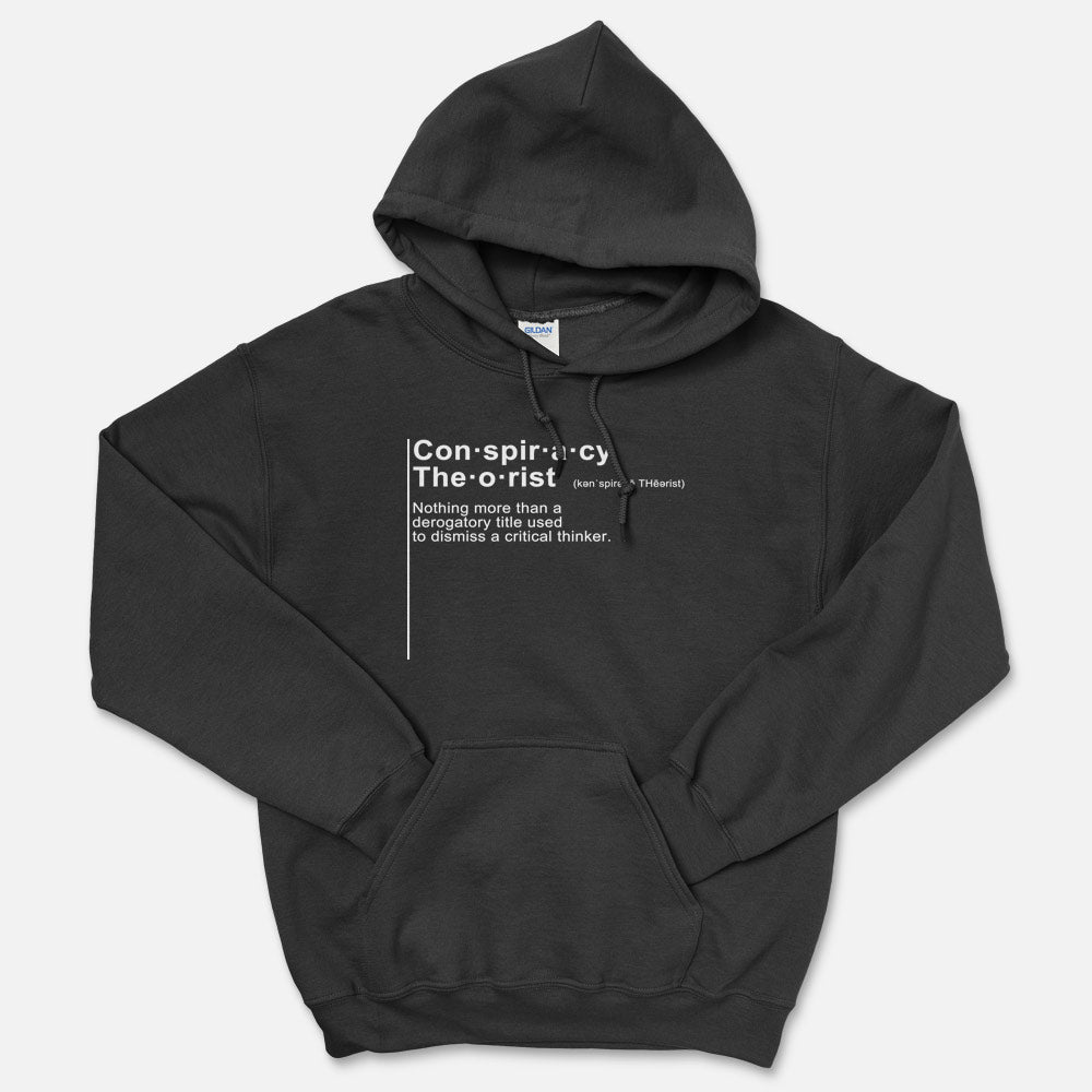 Conspiracy Theorist Definition Hooded Sweatshirt