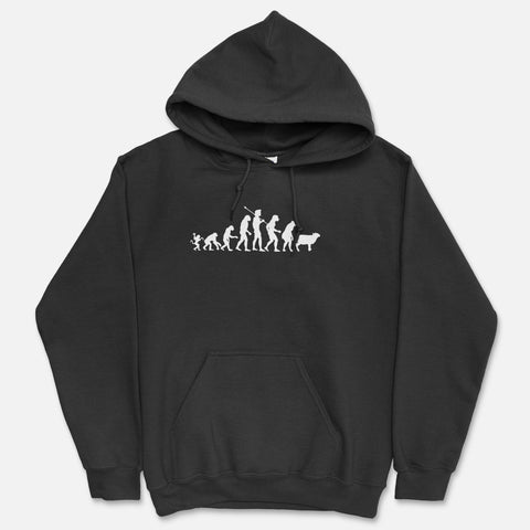Devolution By Design Hooded Sweatshirt