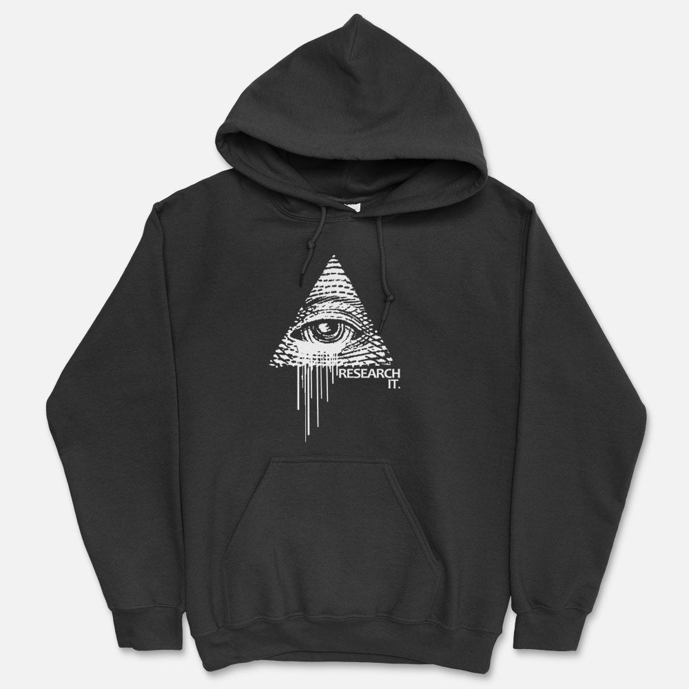 Illuminati - Research It Hooded Sweatshirt`1
