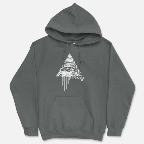 Illuminati - Research It Hooded Sweatshirt