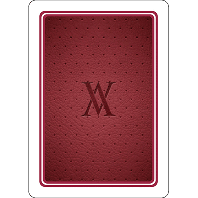 Red Verve Deck Playing Cards - CardCutz