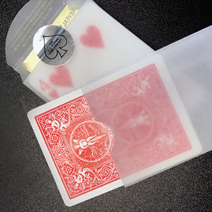 Reveal Sleeve for Bicycle Reveal Playing Cards - CardCutz