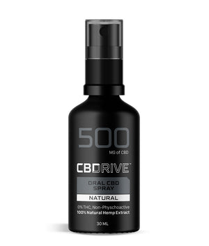 500mg CBD Oil Spray UK | Natural flavour | Sports Range