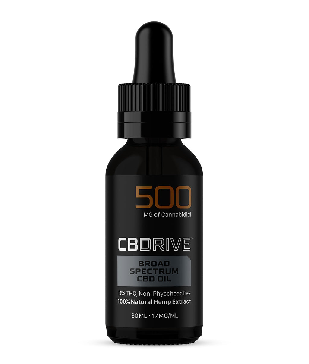 500mg Broad Spectrum CBD Oil UK | Sports Range
