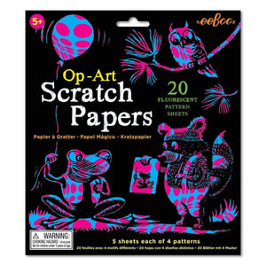 You added eeBoo - Op-Art Scratch Papers to your cart.