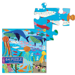 You added eeBoo 64 Piece Puzzle - Ocean Treasure to your cart.