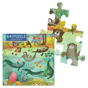 You added eeBoo 64 Piece Puzzle - Otters at Play to your cart.