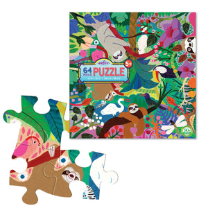 You added eeBoo 64 Piece Puzzle - Sloths at Play to your cart.