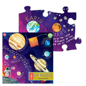 You added eeBoo 64 Piece Puzzle - Solar System to your cart.
