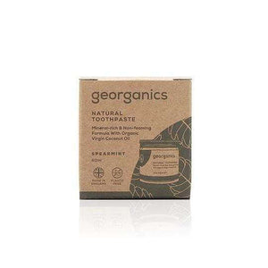 You added Georganics Natural Mineral-Rich Toothpaste - Spearmint to your cart.