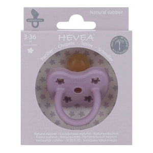 You added Hevea Natural Rubber Orthodontic Pacifier - Lavender - 3-36 Months to your cart.