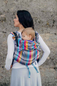 You added Lennylamb Buckle Onbuhimo baby carrier, toddler size, herringbone weave (100% cotton) - LITTLE HERRINGBONE CITYLIGHTS (woven 100% cotton) to your cart.
