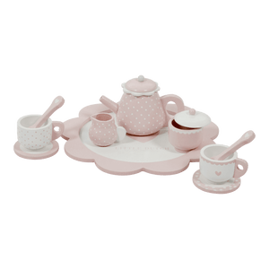 You added Little Dutch - Wooden tea Set - Pink to your cart.
