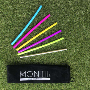 You added Montii Pack Mini Straws - 5 silicon + 1 stainless steel to your cart.
