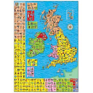 You added Orchard Toys - Great Britain and Ireland Puzzle to your cart.