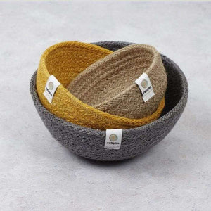 You added ReSpiin Jute Mini Bowl Set - Beach to your cart.