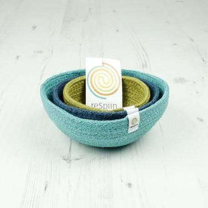 You added ReSpiin Jute Mini Bowl Set - Ocean to your cart.