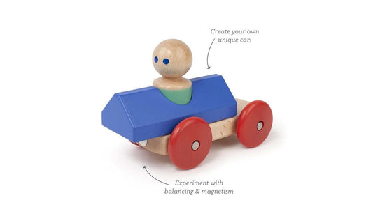 You added Tegu Magnetic Racer - Blue and Poppy to your cart.