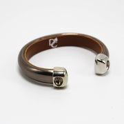OLYMPIC SERIES - Bronze Leather Cuff Bracelet
