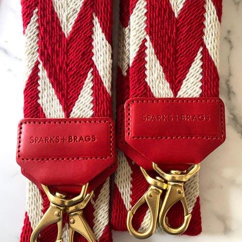 RED & WHITE STRAP