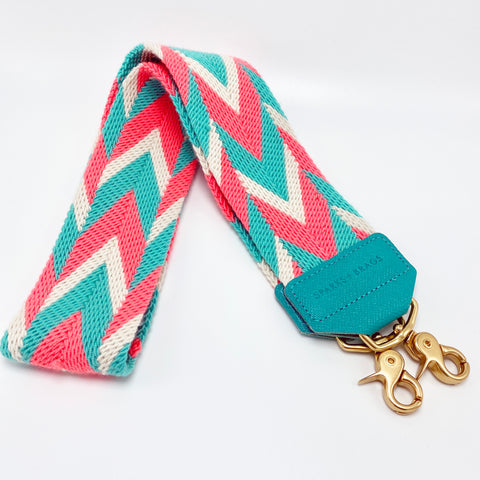 CORAL & TURQUOISE STRAP