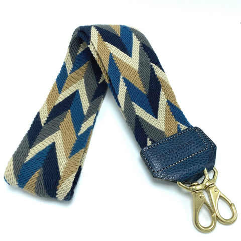 NAVY BLUE & GOLD STRAP