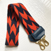 EXAMPLE TEAM SPIRIT STRAP MADE FOR A VIRGINIA CAVALIER FAN