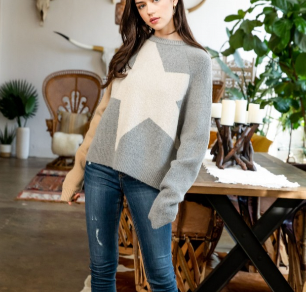 WISH UPON A SUPER-STAR SWEATER