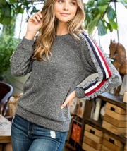 ALL AMERICAN GIRL RAGLAN SWEATER