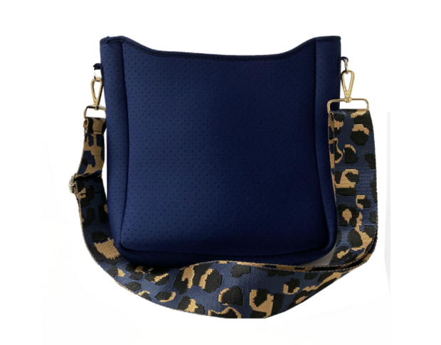 ON THE GO CROSSBODY - NAVY BLUE