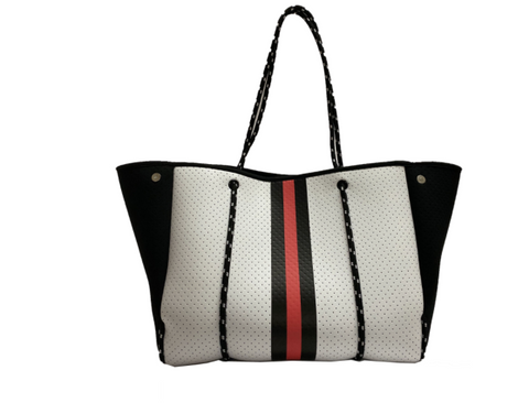 ON THE GO TOTE - WHITE