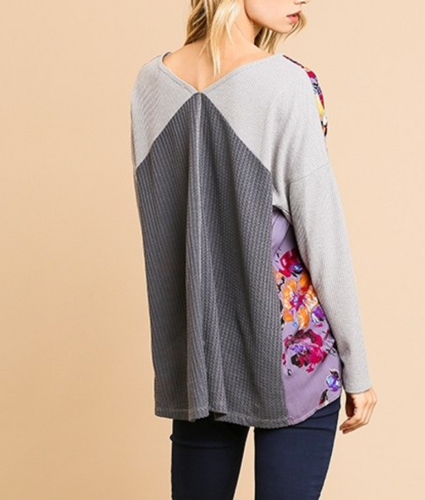 PLUM PERFECT LONG SLEEVE TOP