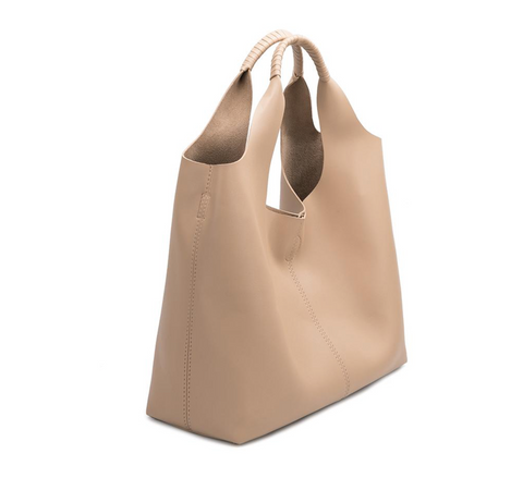 DIANA Tote - Nude Vegan Leather