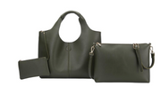 DIANA Tote - Evergreen Vegan Leather